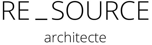 Re_Source Architecte